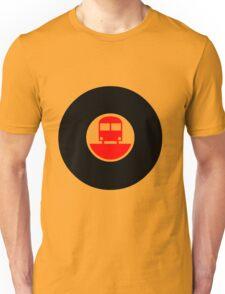 TRAIN-FADE Unisex T-Shirt
