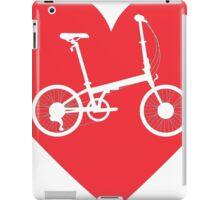 LOVE Folding bike iPad Case/Skin