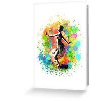 African Rain Dancer (Edited!)  Greeting Card