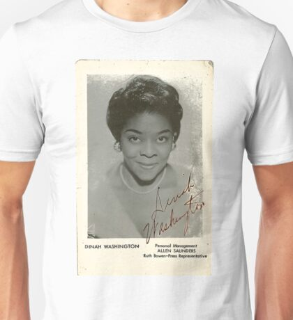 Dinah Washington Unisex T-Shirt