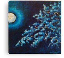 Cold Moon Canvas Print