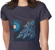 Cold Moon Womens Fitted T-Shirt