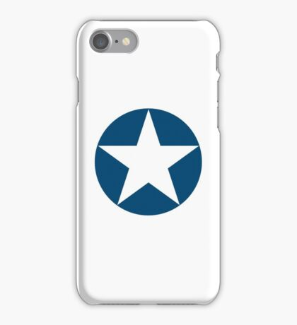 AIR FORCE, SYMBOL, WWII, USA, May 1942, to July 1943 iPhone Case/Skin