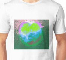 Tachyonen-Energie Herz2 Unisex T-Shirt