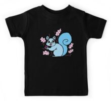 Blue Squirrel Kids Tee