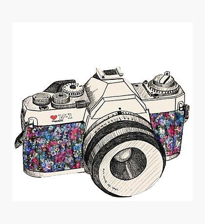 camera Photographic Print