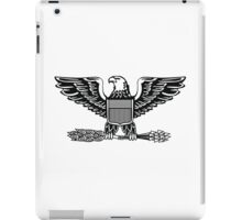 Colonel, rank, insignia, United States Army, Air Force, Marine Corps. iPad Case/Skin
