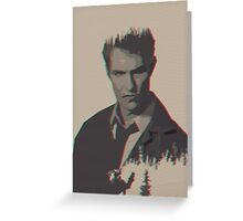 He's Detective Greeting Card