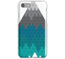 Mountain Geometric Pattern Triangle iPhone Case/Skin