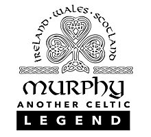 Limited Edition 'Murphy: Another Celtic Legend' Ireland/Scotland/Wales Accessories Photographic Print