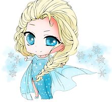 Elsa The Snow Queen by ruri0san
