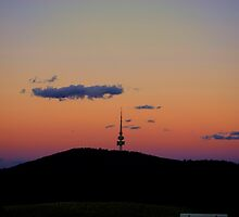 The Tower at Sunset by peterhau