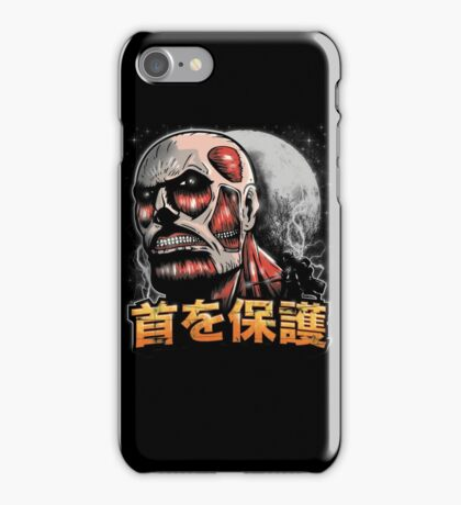 Protect Ya Neck iPhone Case/Skin