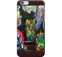 Skrappys by the tracks iPhone Case/Skin