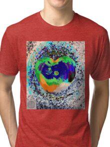 Tachyonen-Energie Herz4 Tri-blend T-Shirt
