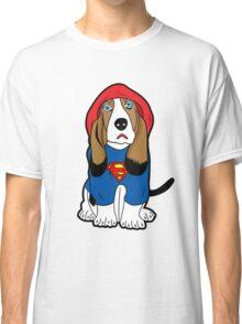 SUPERMAN DOG  Classic T-Shirt