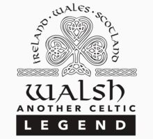 Limited Edition 'Walsh: Another Celtic Legend' Ireland/Scotland/Wales Accessories by Albany Retro