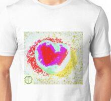 Tachyonen-Energie Herz5 Unisex T-Shirt