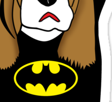 batman dog  Sticker