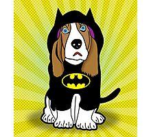 batman dog  Photographic Print