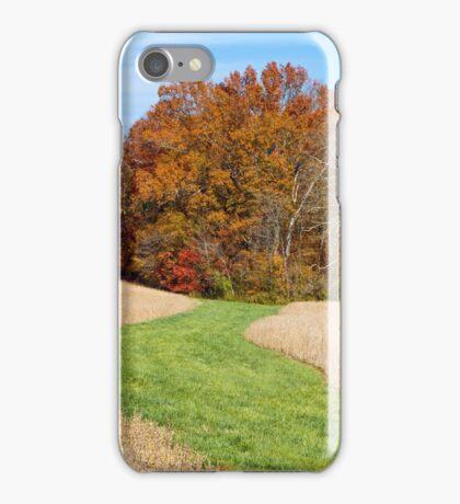 Step Into Autumn iPhone Case/Skin
