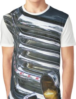 Vintage Car Chrome Glamour Graphic T-Shirt