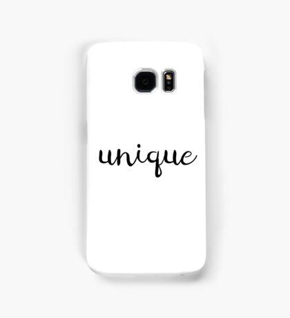 Unique Typography Samsung Galaxy Case/Skin