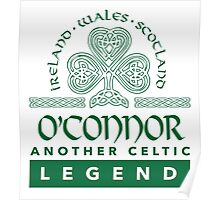 Limited Edition 'O'Connor: Another Celtic Legend' Ireland/Scotland/Wales Accessories Poster