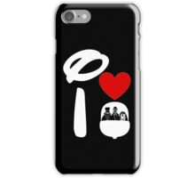 I Heart Haunted Mansion (Inverted) iPhone Case/Skin