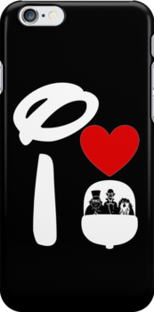 I Heart Haunted Mansion (Inverted) by ShopGirl91706
