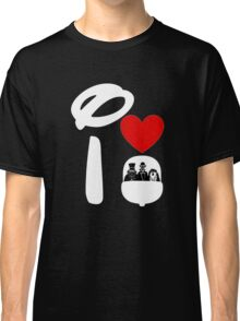 I Heart Haunted Mansion (Inverted) Classic T-Shirt