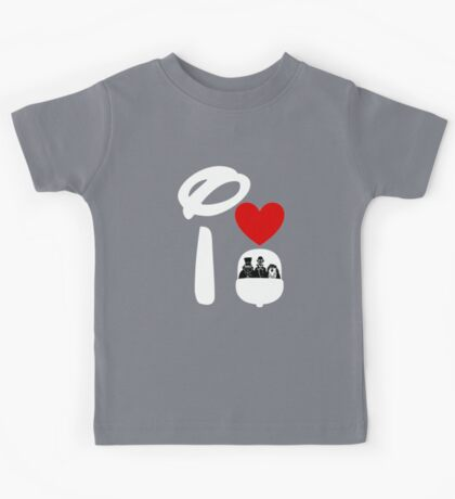 I Heart Haunted Mansion (Inverted) Kids Tee