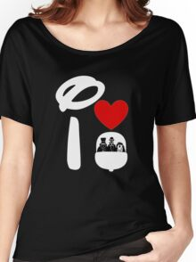 I Heart Haunted Mansion (Inverted) Women's Relaxed Fit T-Shirt