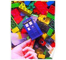 Lego My TARDIS Poster