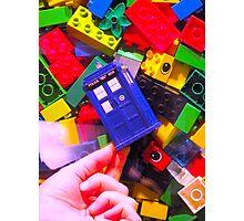 Lego My TARDIS Photographic Print
