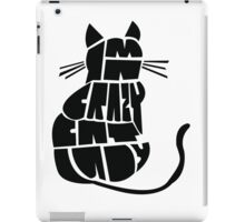 Crazy Cat Lady iPad Case/Skin