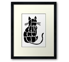 Crazy Cat Lady Framed Print