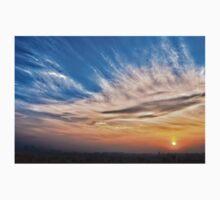 A Blue Sunrise One Piece - Long Sleeve
