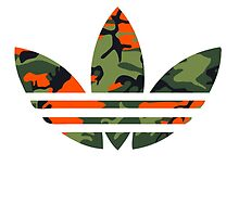 Adidas Trefoil Original Hunter Camo by PommyKaine