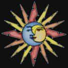 moon and sun by Amy-Elyse Neer