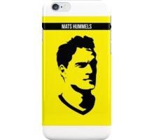 Mats Hummels Borussia Dortmund iPhone Case/Skin