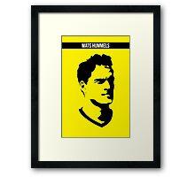 Mats Hummels Borussia Dortmund Framed Print