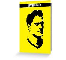 Mats Hummels Borussia Dortmund Greeting Card