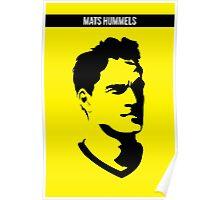 Mats Hummels Borussia Dortmund Poster