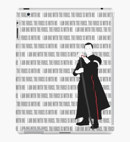 One With The Force iPad Case/Skin