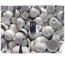 Bowl of TARDIS Poster