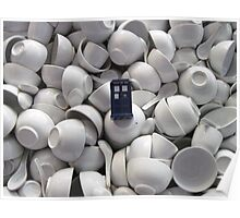Bowl of TARDIS Poster