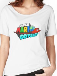 Super Mario Odyssey Logo Women's Relaxed Fit T-Shirt