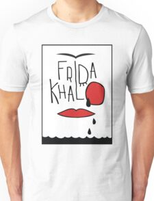 Frida Kahlo illustration Unisex T-Shirt