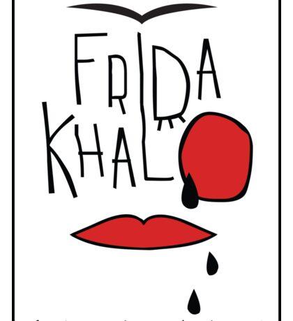 Frida Kahlo illustration Sticker